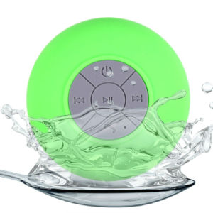 Portable Subwoofer Bts06 Shower Waterproof Wireless Bluetooth Speaker Car Handsfree Receive Call Music Suction with Mic pictures & photos