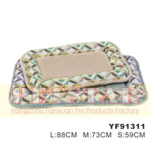 Fashion Windmill Pattern with Soft Plush Pet Beds Yf91311 pictures & photos