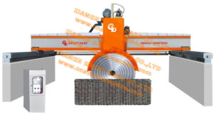 GBQQJ-3000A Bridge Type Hydraulic up and Down Stone Cutting Machine pictures & photos