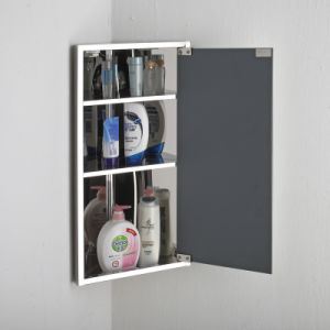 Wholesale Bathroom Sanitary Ware Storage Corner Mirror Cabinet 7023 pictures & photos
