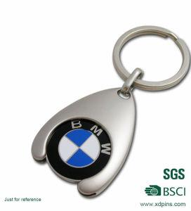 Supermarket Trolley Coin Keychain Shopping Car Coin Token pictures & photos