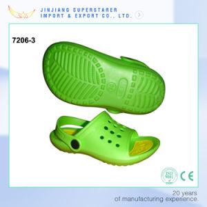 Green Color EVA Open Toe Kids Sandals, Soft Durable Child Sandals pictures & photos