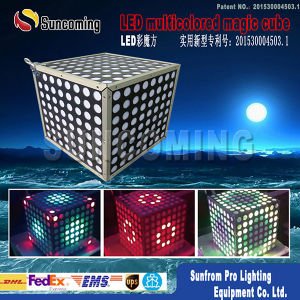 LED Colour Magic Cube Light Ceiling Light Backdrop Decoration Light pictures & photos