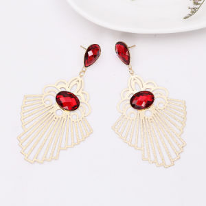 2017 New Design Computer Lens Brass Earring pictures & photos