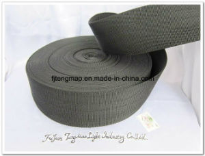 "2.5"" Black PP Webbing for Bags pictures & photos"