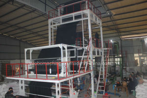 2sj-G50 HDPE&LDPE PE Film Blowing Machine with Rotary Die Head pictures & photos