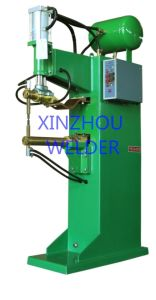 Pneumatic and Adjustable Type Spot Welding Machine to Weld The Wire Hardward pictures & photos