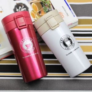 Double Wall 18/8 Stainless Steel Vacuum Insulated Flask Coffee Mug (SH-VC35) pictures & photos