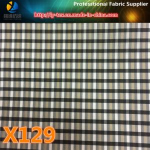 Wholesale Polyester Woven Colorful Check Multi-Choice Fabric for Garment (X127-129) pictures & photos