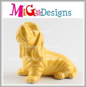 Wholesale Craft Gift Ceramic Exquisite Dog Piggy Bank pictures & photos