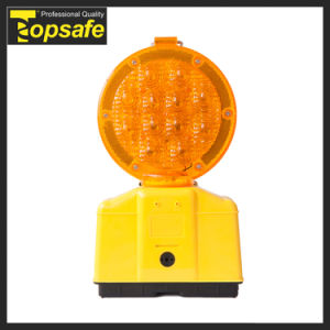 6V Battery Flashing LED Flare Traffic Warning Light pictures & photos