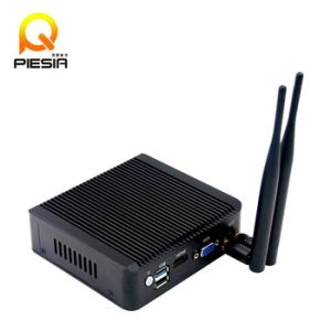 Dual Core Nano Itx Mimi PC with 4 LAN, Baytrail J1800 Processor, Industrial Computer with 1*USB2.0/1*USB3.0 pictures & photos