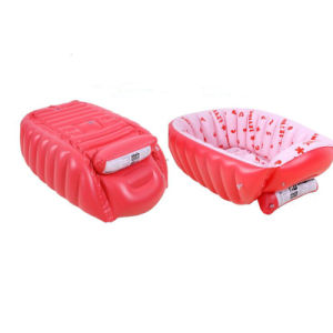 Pink Color 80cm Inflatable Bath Tub for Baby Girl pictures & photos