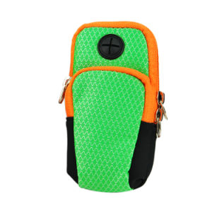 Retro Unisex Nylon Mobile Phone Pouch Bags for Running Jogging pictures & photos