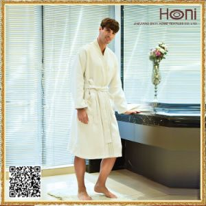 Newest Design Wholesale Bathrobe Plain Dyed Hotel Bathrobe pictures & photos