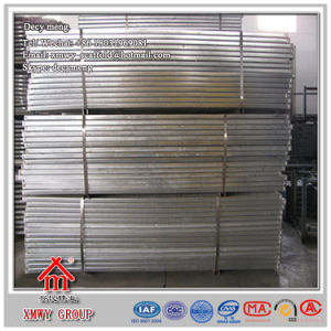 Galvanized Steel Plank for Scaffold& Normal Stiffener Steel Walking Board pictures & photos
