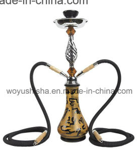 Water Pipe Glass Craft Set Black Hookah pictures & photos