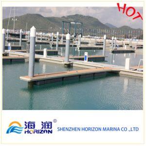 Marine Plastic Pile Cap for Marina Dock in China pictures & photos