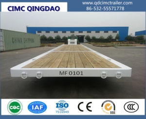 Cimc Flatbed Container Semi Trailer / Truck Trailer Chassis pictures & photos