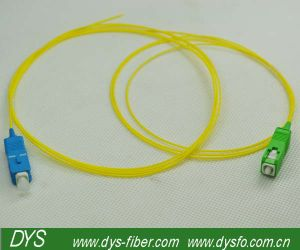 Om4 Sc PC Fiber Optic Pigtail pictures & photos
