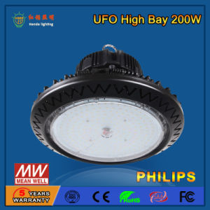 Customize 200 Watt IP44 LED UFO High Bay Light pictures & photos