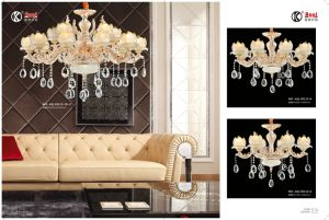 Hot Sale Die Casting Zinc Alloy Chandelier Light pictures & photos