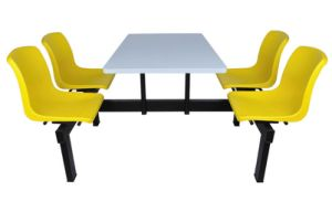 Used Restaurant Table and Chair Restaurant Chair Fast Food Table and Chairs pictures & photos