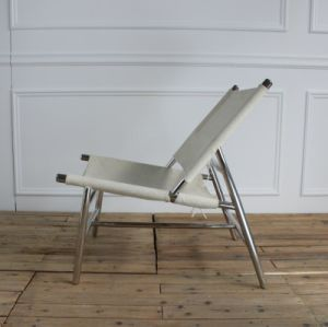 Shiny Stainless Steel Tube Fabric Leisure Chair pictures & photos