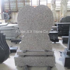 Granite Heart Design Headstone pictures & photos