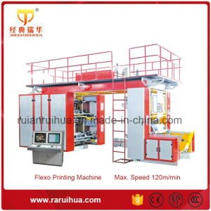 4 Color Chamber Doctor Blades Printing Machine with High Speed pictures & photos