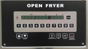 Ofe-H321 Electric&Gas Automatically Lift Open Computer Control Panel Deep Fryer pictures & photos