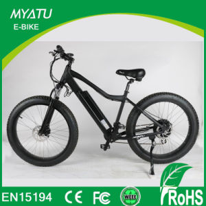 Mountain Electric Bike Fat with 26inch Tyres From China Guangdong pictures & photos