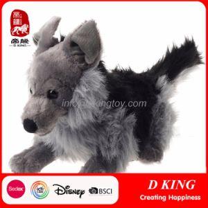 Gray Giant Wolf Plush Stuffed Animal Toys pictures & photos