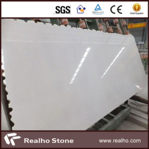 White Color Natural Crystal Marble Slabs for Floor / Wall pictures & photos