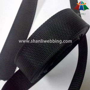 1.5 Inch Black Beaded Soft Nylon Webbing pictures & photos