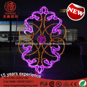 LED Decorative National Day Street IP65 Outdoor Pole Motif Decoration Light for Christmas pictures & photos