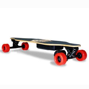 Mini 4 Wheels Electric Kick Skateboard pictures & photos
