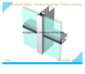 Semi-Hidden Frame Glass Curtain Wall pictures & photos