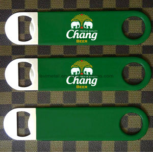 Custom Promotion Gift Full Color Printed Coating Metal Beer Bottle Opener pictures & photos