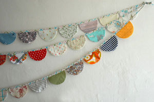 Personalized Patriotic Bunting Vinyl and Fabric Bunting Liberty Cotton Bunting pictures & photos