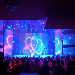 Perfect Vision Effect Indoor Full Color Rental LED Display P3.91