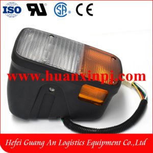 48V for Toyota 8fb Forklift Front Lamp Left Side pictures & photos