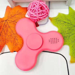 Fidget Spinner with Built in LED Bluetooth Speaker Tri Finger Spinning Top Decompression Finger Toy pictures & photos