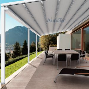 Remote Control Sunshade Patio Retractable Awning
