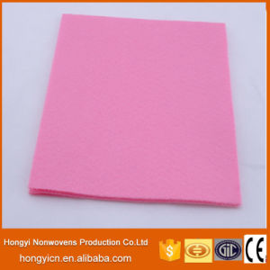 Super Absorbent Multi-Color Needle Punched Nonwoven Fabric Cleaning Products pictures & photos