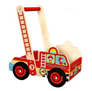Hot Christmas Sale Wooden Baby Walker Toy for Kids and Children pictures & photos