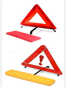Emergency Car Roadway Warning Triangle with E-MARK pictures & photos
