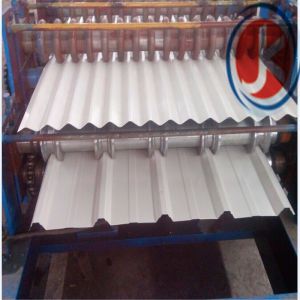 Ibr and Corrugated Double Deck Roof Panel Roll Forming Machine pictures & photos