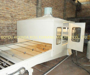 Colorful Stone Coated Metal Roof Tile Forming Machine Sand Blasting Line pictures & photos