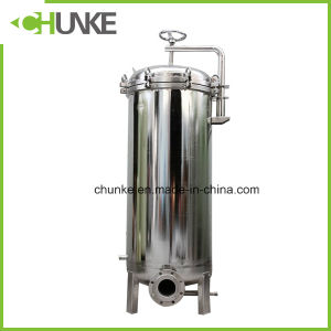 Chunke Stainless Steel Security Filter/ Industrial Water Filter Machine pictures & photos